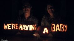McFly's Tom Fletcher and his wife Giovanna announce their pregnancy HALLOWEEN STYLE!