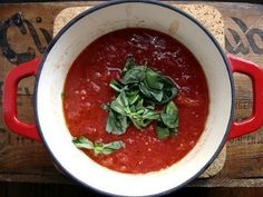 Quick and Easy Marinara Sauce – In Jennie's Kitchen