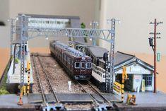 N Scale Buildings, Train Layouts, Model Trains, Model Railroader, Scenery, World, Cyberpunk, Mini, Landscape