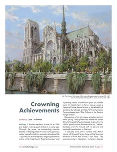 Crowning Achievements... Artist to Collect: Anthony Batten written by Lorie Lee Steiner. Arabella Spring 2015 issue Page_149