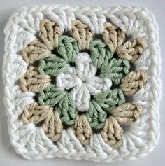 Beauty Life Lyrics - Beauty And The Beast - Beauty Logo Spa - - - Crochet Quilt, Crochet Blocks, Love Crochet, Crochet Motif, Diy Crochet, Crochet Flowers, Crochet Stitches, Crochet Baby, Granny Square Crochet Pattern
