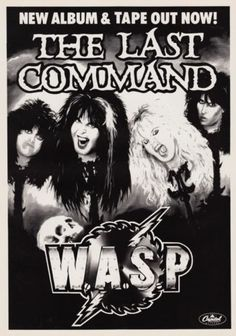 W-A-S-P-The-Last-Command-PHOTO-Print-POSTER-WASP-Blackie-Lawless-Golgotha-006