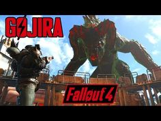 Fallout 4 - GOJIRA BOSS - World to Come Quest Mod - ENORMOUS DEATHCLAW!! - X1 PC - YouTube Best Fallout 4 Mods, Fallout 4 Secrets, Fall Out 4, Heavy Metal Bands, Haha, Video Games, Boss, Creatures, In This Moment