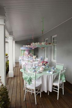 Tea Party on the Verandah