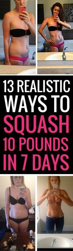 13 doable ways to lose 10 pounds in 7 days