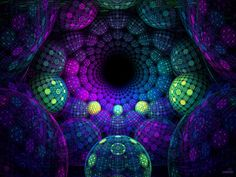 Fractal Gallery Psychedelic Art | Psychedelic Wallpaper