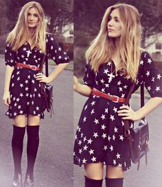 Stars and Stripes (by Elena S) http://lookbook.nu/look/3481109-Stars-and-Stripes