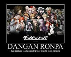 Dangan Ronpa class photo
