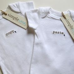 Copy and Paste......... i need these for my girls right now! these are perfect
