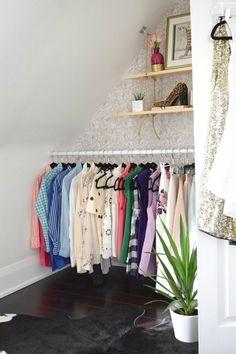 Your clothes aren't one-size-fits-all, so why would your closet be? Whether you've got a walk-in wardrobe, an open clothing rail in your bedroom, or something in between, you'll want to make it work for you and give you a thrill every time you visit. Here are five ideas for customizing your closet.