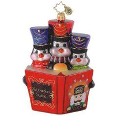Storybook Trio Christmas Ornament