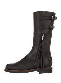 Biker Boot in Black