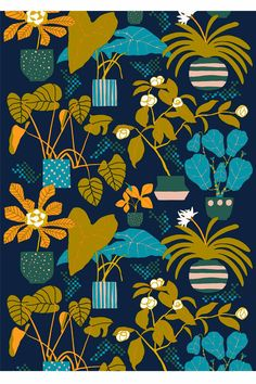 Ikkunaprinssi cotton fabric by marimekko