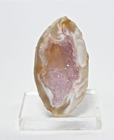 Druzy Drusy Amethyst Crystal center Agate Geode by FenderMinerals,