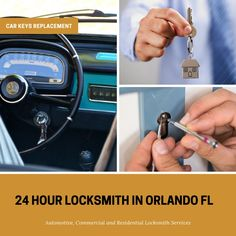 The professional Locksmith Orlando are always there for you when it comes to need for a 24-hour emergency locksmith in Orlando and its nearby areas.   Give us a call at (407) 258-1377 at any time! ☎️
