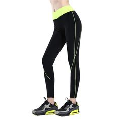 Vertvie Women Yoga Pants High Waisted Skinny Sport Pencil Pants Quick Dry Gym Jogging Running Fitness Leggings Female Tights