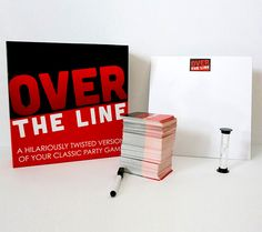 Over The Line is an adult party game and is essentially a dirty-love-child of the classic games of Pictionary and Charades. How it works is, you pick a card from the deck, you then choose to act out t. Adult Game Night Party, Game Night Parties, Adult Party Games, Adult Games, Pictionary Words, Charades, Internet Search History, Dinner Party Games, Line Game