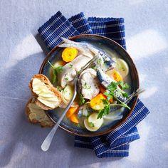 Découvrez la recette la cotriade sur cuisineactuelle.fr.