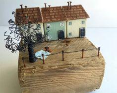Madera reciclada arte, Natural Home Decor, recuperada escultura de madera, arte de madera, regalos rústico, Shabby chic regalos, regalo casa nueva, regalo de boda