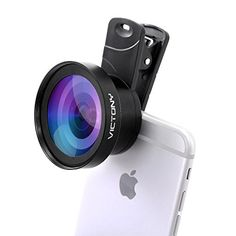 VICTONY Phone Lens Kit 0.45 x 110 Wide Angle 12.5 x Macro,2 in 1 Professional HD Camera Lens for iPhone 7/7 Plus/6s/6s Plus/6/5, Samsung and Most Smartphone  http://topcellulardeals.com/product/victony-phone-lens-kit-0-45-x-110-wide-angle-12-5-x-macro2-in-1-professional-hd-camera-lens-for-iphone-77-plus6s6s-plus65-samsung-and-most-smartphone/  ULTRA WIDE ANGLE:0.45X super wide angle lens for a high definition wide angle image without distortion.Significantly expand the fiel