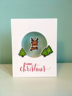 Mama elephant Reindeer Games and My Favorite Things Hand lettered Holiday