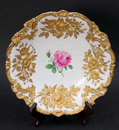 #Meissen  --  Bowl/Plate  --  No further reference provided.