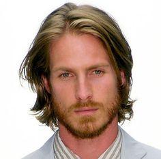 long hairstyles men coarse hair - Google Search