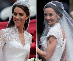 Lace Wedding, Wedding Dresses, Pippa Middleton, Timeless Wedding, Fashion, Timeless Wedding Dresses, Wedding Dress Lace, Two Sisters, Daytime Wedding