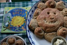 Sun bread--for a summer solstice party or just for fun