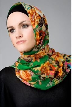 Ecuador Rose Hijab Green