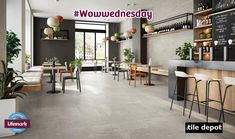 Haloing, calibrated streaks, and dynamic shading characterise a material with a profound and varied aesthetic and with great expressive strength. Smoothie Shop, Outdoor Flooring, Porcelain Tile, Cladding, Tiles, Frame, Furniture, Design, Lost