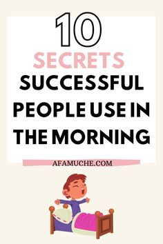 In this article, I'll be providing several beneficial tips on how to have a successful day, be productive, and crush your goals
