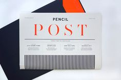 Pencil – Pencil Post On Behance, curated by Michael Paul Young on Buamai.