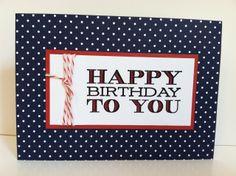 Quick Birthday Card...