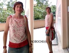 Look NOBOCHI® for working Wednesday. Red top and bag by NOBOCHI® #ootd #fashion #ateliernobochi #fashion #summer