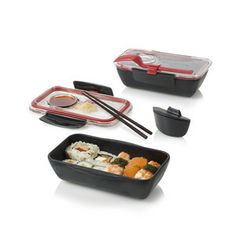 "Bento Box Black now featured on Fab. This is a ""fab"" website, with foodie items! Love it!"
