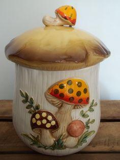 Vintage Cookie Jar 1978 Sears Roebuck Canister by JunkyardElves, $32.00
