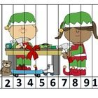 You get two pictures: Elves in the Workshop and Gingerbread HouseThere are several options:Numbers 1-10Numbers 11-20Counting by 2'sCounting b...