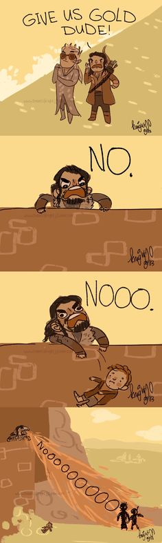This is what basically happened in Battle of the Five Armies.