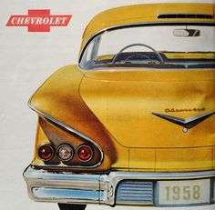 Chevrolet, what's not to like. Great car 1958 CHEVY.