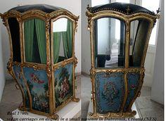 Sedan chair 18th century.