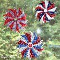 http://www.supermomnocape.com/2016/06/29/patriotic-prairie-point-star-ornaments/