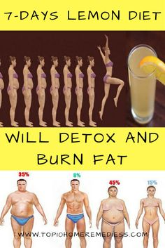 A NEW 7-DAYS LEMON DIET WILL DETOX AND BURN FAT