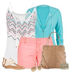 Cute outfit - although the shorts are a little too short for me personally - Polyvore featuring maurices and Maurices