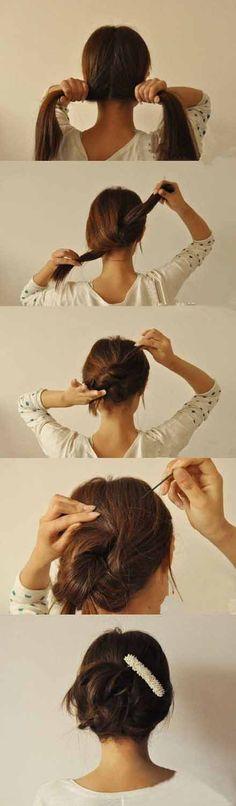 Dievčatá, už Vás omrezlo nosiť obyčajne rozpustené vlasy? Chcete skúsiť niečo iné, no nechcete stráviť pred zrkadlom dlhé hodiny ani vyhodiť veľa peňazí u kaderníčky? Pozrite si super nápady, ako si rýchlo urobiť pekný účes.