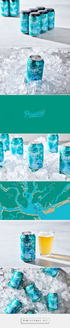 Paradise Pale Ale Packaging by Stitch Design Co. | Fivestar Branding Agency – Design and Branding Agency & Curated Inspiration Gallery