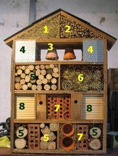 Quels matériaux choisir pour son hôtel à insectes ?