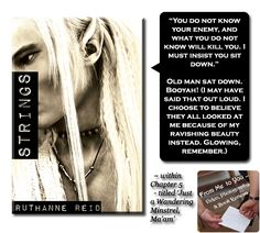 STRINGS by Among the Mythos, Fantasy Series by Ruthanne Reid -- Read my review here: http://frommetoyouvideophoto.blogspot.com/2015/04/feasted-on-among-mythos-series-book-3.html #teaser #meme  -- CONTEST HERE (from February 4 to May 20, 2015) :: http://frommetoyouvideophoto.blogspot.com/2015/04/blog-tour-christmas-dragon-strings-by.html  #RuthanneReid