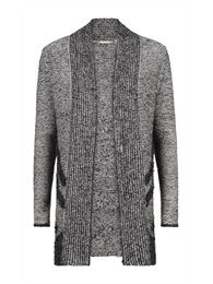 Knitted cardigan. Sandwich collection Winter 2014.