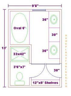 Terrific 17 Best Master Bathroom Floor Plans Images In 2016 Download Free Architecture Designs Scobabritishbridgeorg